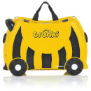 Trunki Bernard Bee Ride on Case (Includes Free Leeroy ToddlePak Backpack)