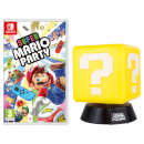 Super Mario Party + Question Block Lamp
