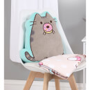 Pusheen Doughnut Shaped Cushion