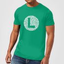 Nintendo Super Mario Luigi Items Logo Men's T-Shirt - Kelly Green