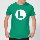 Nintendo Super Mario Luigi Logo Men's T-Shirt - Kelly Green
