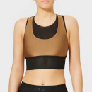 Koral Women's Utopia Sprint Sports Bra - Toffee/Black