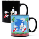 Sonic The Hedgehog Heat Changing Mug