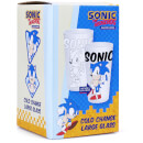 Sonic The Headgehog Colour Changing Glass