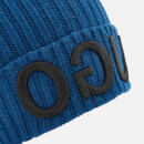 HUGO Men's Beanie Hat - Blue
