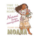 Disney Moana Natural Born Navigator Men's T-Shirt - White
