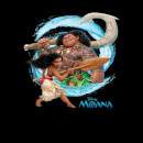 Disney Moana Wave Men's T-Shirt - Black