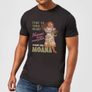 Disney Moana Natural Born Navigator Men's T-Shirt - Black