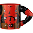 Meta Merch Marvel Deadpool Tasse mit Henkel in Armform