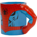Meta Merch Marvel Spider-Man Arm Tasse