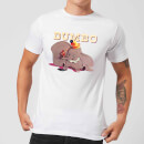 Disney Dumbo Timothy's Trombone Men's T-Shirt - White