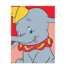 Disney Dumbo Portrait Men's T-Shirt - White