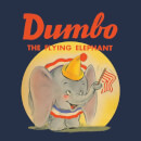 Dumbo Flying Elephant Women's T-Shirt - Navy