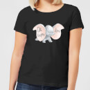 T-Shirt Femme Happy Day Dumbo Disney - Noir