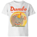Dumbo Flying Elephant Kids' T-Shirt - White