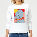 Dumbo Portrait Women's Sweatshirt - White