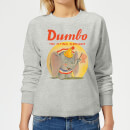 Dumbo Flying Elephant Women's Sweatshirt - Grey