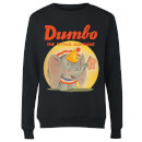 Dumbo Flying Elephant Women's Sweatshirt - Black