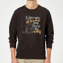 Dumbo Follow Your Dreams Sweatshirt - Black