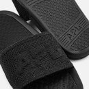 Athletic Propulsion Labs Women's Big Logo TechLoom Slide Sandals - Black