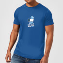 Plain Lazy Anti-Social Media Men's T-Shirt - Royal Blue