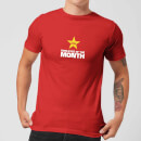 Plain Lazy Employee Of The Month Men's T-Shirt - Red
