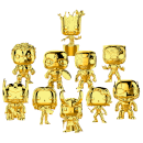 Marvel MS 10 Gold Chrome Pop! Vinyl - Pop! Collection