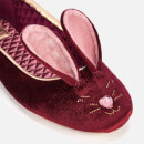 Ted Baker Women's Bhunni Velvet Slippers - Burgundy