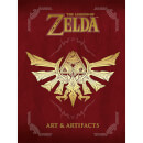 The Legend of Zelda: Art & Artifacts (Hardback)