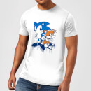 Sonic The Hedgehog Graffiti Herren T-Shirt - Weiß