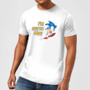 Sonic The Hedgehog I'm Outta Here Men's T-Shirt - White