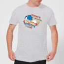 Sonic The Hedgehog Sonics The Name, Speeds The Game Men's T-Shirt - Grey