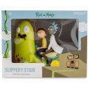 Kidrobot Adult Swim Rick and Morty Slippery Stair 7 Inch Vinyl Figure