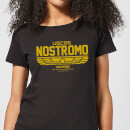 Alien USCSS Nostromo Women's T-Shirt - Black