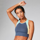 Myprotein Power Deluxe Crop Top - Dark Indigo - XS - Dark Indigo