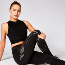 Energy Crop Top - Svart - XS