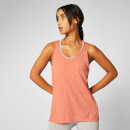 Bliss Burnout Vest - Copper Rose - S