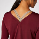 Dry-Tech Long-Sleeve Top - Oxblood - XS