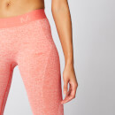 Inspire Seamless Leggings - Hot Coral - XS