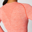 Inspire Seamless Crop Top - Koralle - XS
