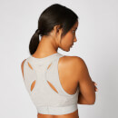Inspire Seamless Sports Bra - Sulphur Grey - M