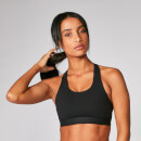 Myprotein Power Cross Back Sports Bra - Black - XS