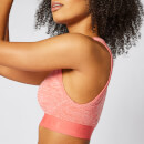 Inspire Seamless Sports Bra - Hot Coral