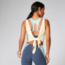 Tie-Up Vest - Lemon