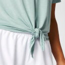 Twist Short Sleeve T-Shirt - Seafoam - S