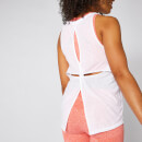 Bliss Burnout Vest - White - S