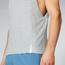 Myprotein Luxe Classic Drop Armhole Tank Top - Silver