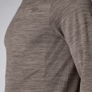 Lightweight Seamless Long-Sleeve T-Shirt - Driftwood Marl  - XS