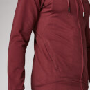 Sweat à capuche zippé Form - Oxblood - XS