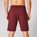 Form Sweat Shorts - Oxblood  - XS - Oxblood